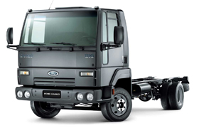 Novo Caminhao Leve Cargo 816 Da Ford Portal Tecnologistica