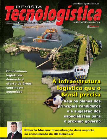 A infraestrutura logística que o Brasil precisa