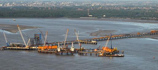 Vale terminal-ponta-da-madeira Pier 5 interna