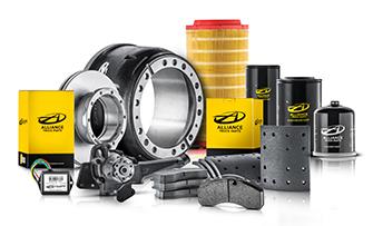 Alliance Truck Parts oferece vasta gama de peças de reposição