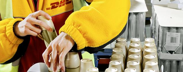 DHL investe na expansão de sua área de embalagens promocionais