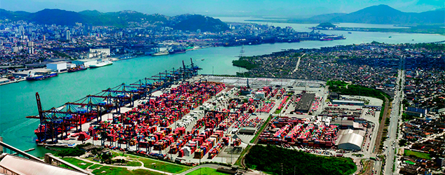 Santos Brasil entra no Novo Mercado da Bolsa de Valores