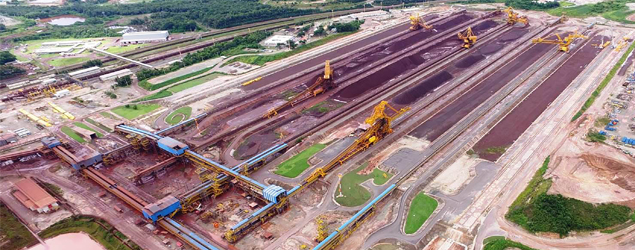 Mina no Pará é energizada e ramal ferroviário tem conexões 100% concluídas