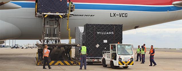 Viracopos recebe carga da Fórmula 1 pelo 15º ano consecutivo