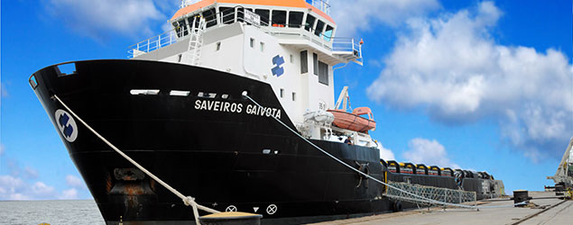 Wilson Sons Estaleiros converte Platform Supply Vessel em Oil Spill Recovery Vessel