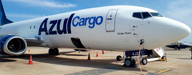 Azul Cargo Express recebe sua primeira aeronave cargueira