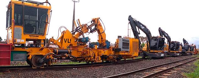 VLI conclui investimento no programa de mecanização da via permanente