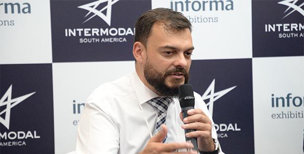 Carvalho, durante coletiva de imprensa na feira Intermodal South America