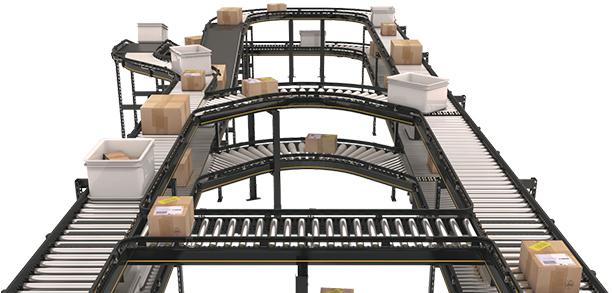 Plataforma de transportadores modulares