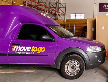 Veículo de entrega da Movetogo
