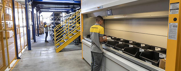 Jungheinrich instala seu primeiro armazém automatizado LRK no Brasil