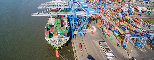 Tecon Rio Grande bate recorde de produtividade em 2019