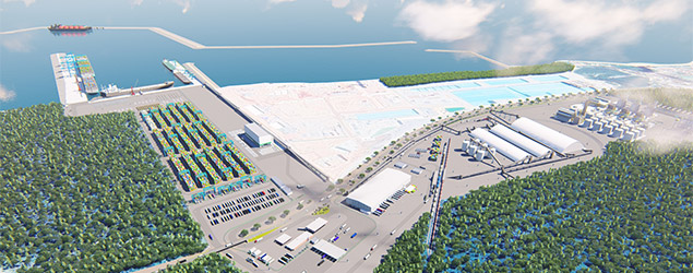 Obras do porto da Imetame Logística no Espírito Santo são iniciadas