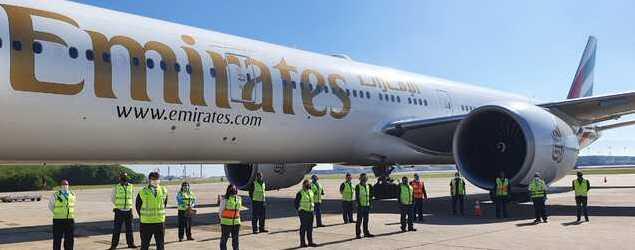 Emirates SkyCargo opera voo fretado especial para o Rio de Janeiro
