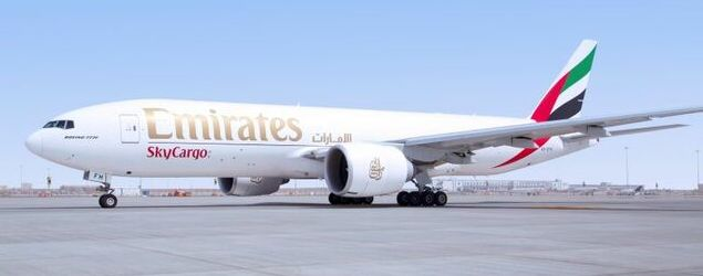 Emirates SkyCargo expande malha regular de carga para 100 destinos