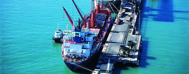 TMib realiza primeiro embarque de milho para exportação